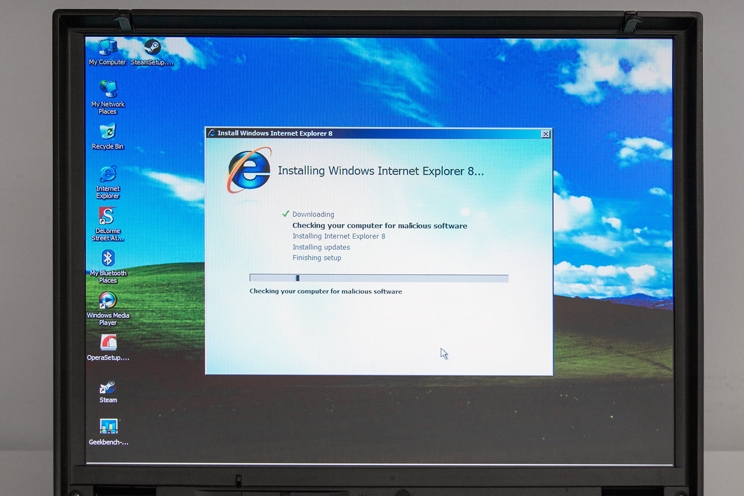 install ie 7 without: