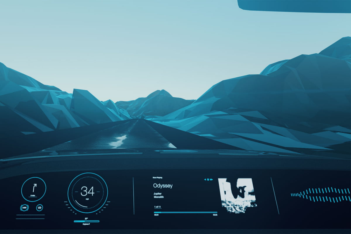 ibm unveils watson supported technology at  naias the wheel