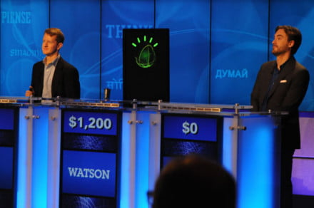 IBM Watson Jeopardy practice game