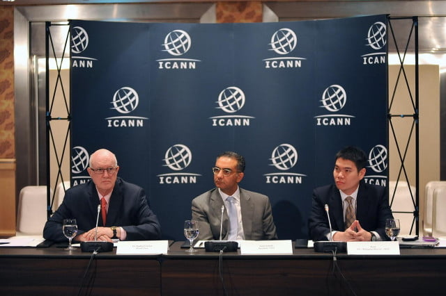 north america set to run out of ipv  numbers icann fadi chehade