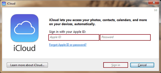 iCloud Installation 4