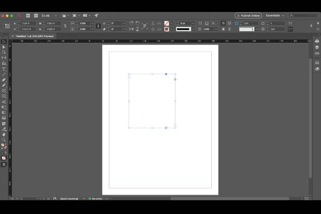 adobe indesign modern ui march  id redesigned