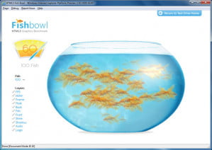 Internet Explorer 10 Platform Preview Fish Bowl Demo
