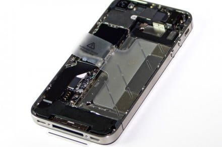ifixit teardown of iPhone 4S
