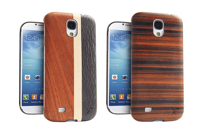 iFrogz Natural Wood cases