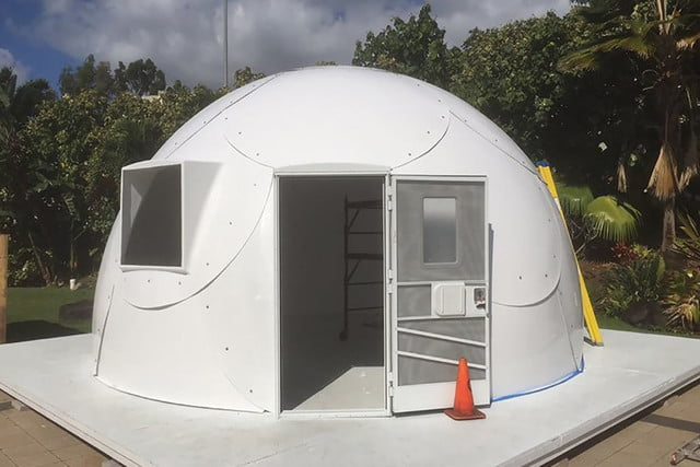 hawaii using igloo type houses to fight homelessness