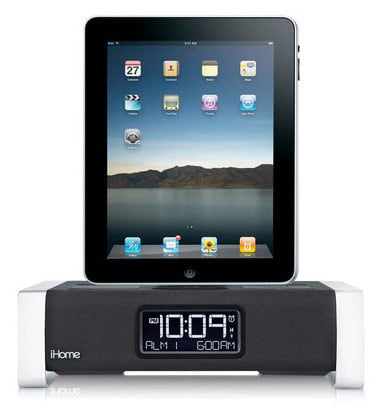 iHome-iA100-iPad-Dock