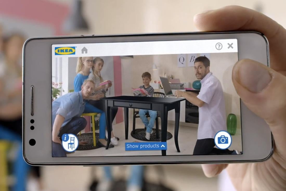 ikeas new augmented reality app superimposes furniture into your empty room ikea ar catalog