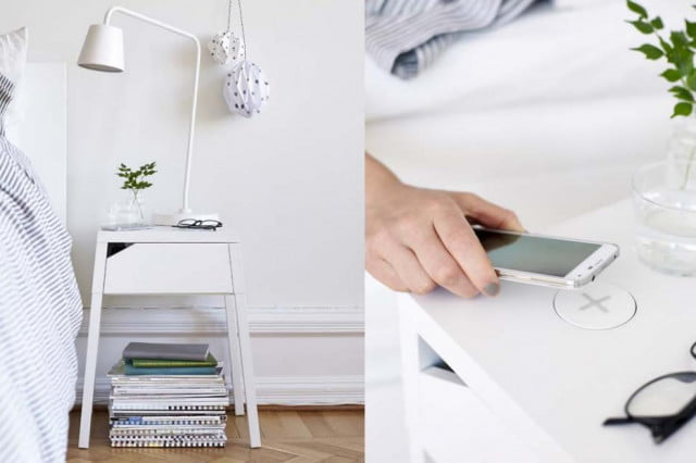 ditch your cords with ikeas wireless charging furniture ikea