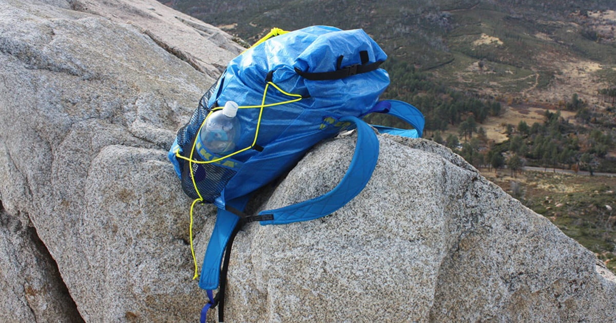 Backpacker turns Ikea's strangely tough shopping bags into an ultralight backpack