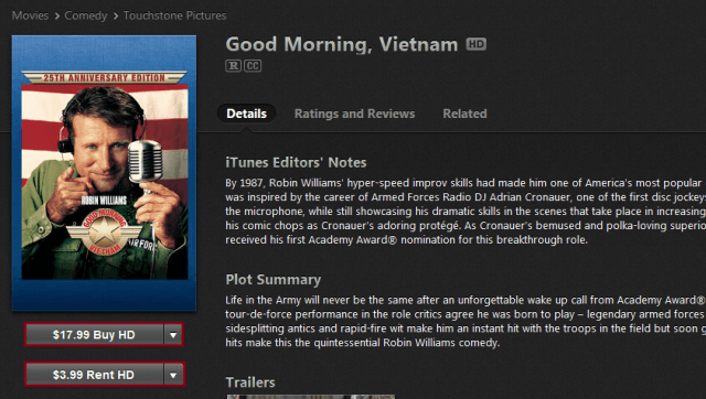 Good Morning Vietnam Itunes : How to download movies an ipad digital trends