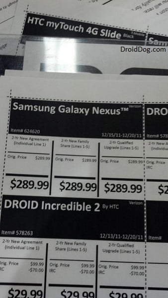 costco galaxy nexus