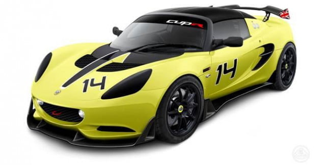 lotus elise s cup r revealed