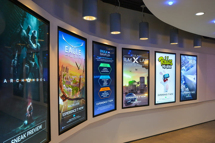 imax vr experience center opening los angeles centre