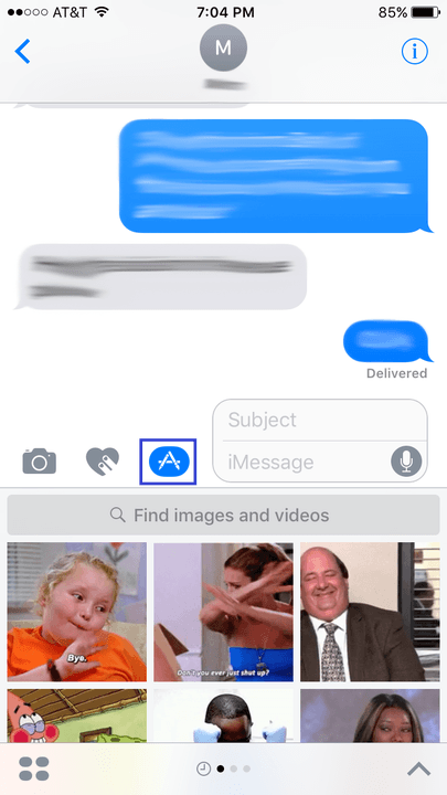 iphone  tips and tricks imessage apps