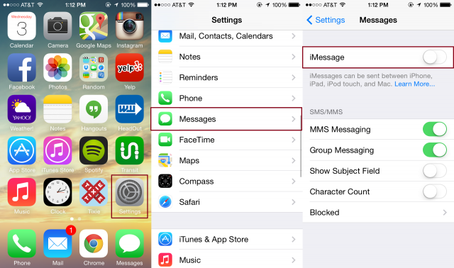 how to deactivate call barring in iphone