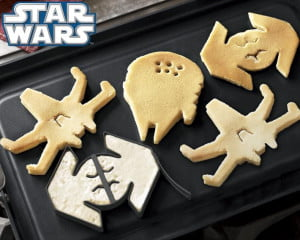 Star Wars pancake mold
