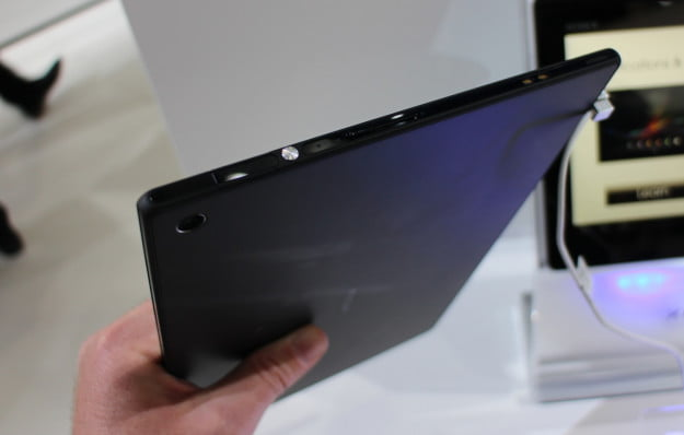 Sony Xperia Tablet Z side