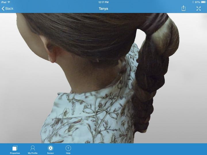 itseez d app puts ultra realistic  scanning ipad img scan