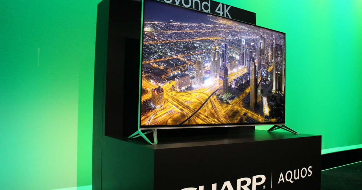 Sharp unveils four new 4K UHD series at CES 2015