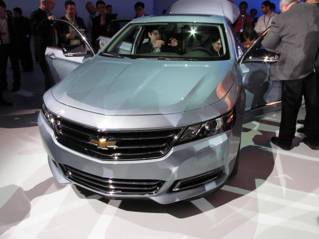 2014 Chevy Impala front