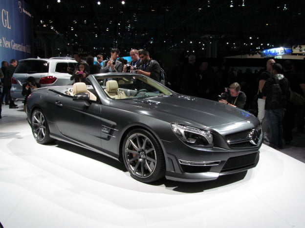 Mercedes SL65 AMG 45th Anniversary Edition