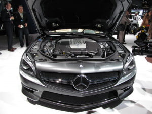 Mercedes SL65 AMG 45th Anniversary Edition engine