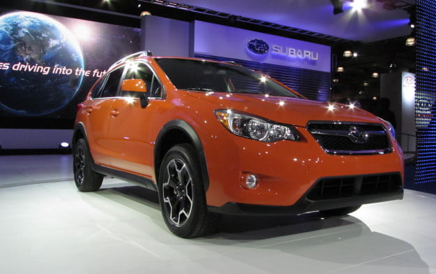 Subaru Crosstrek front three-quarter