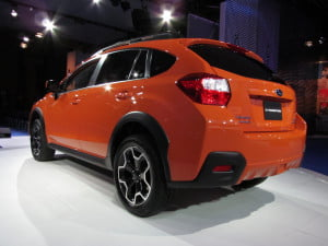 Subaru Crosstrek rear three-quarter