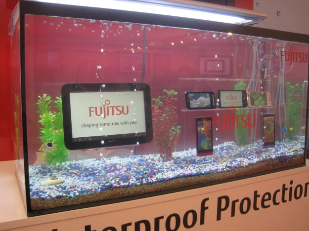 Fujitsu waterproof phones and tablets