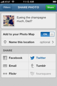 instagram post to photo maps