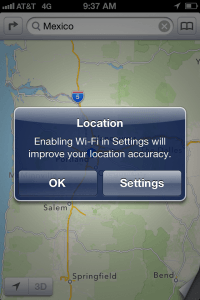 location wifi