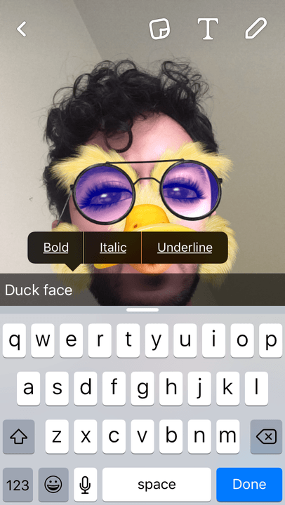 snapchat update ios geofilters captions