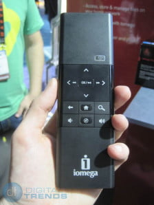 Iomega TV w Boxee remote