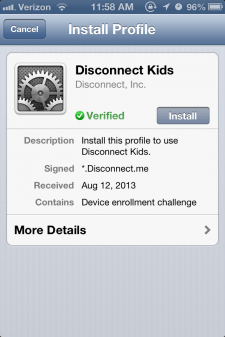Disconnect Kids