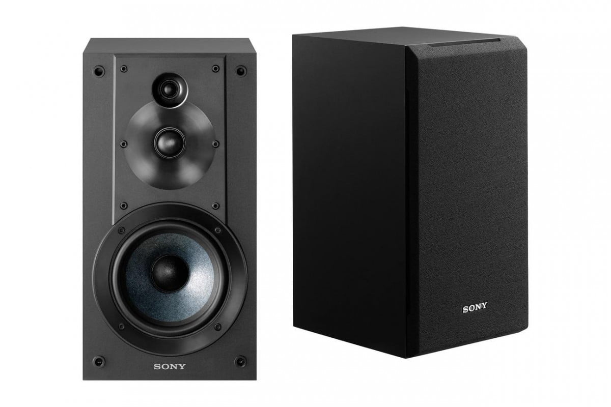 sony expands high resolution audio line features affordable performance speakers  cs
