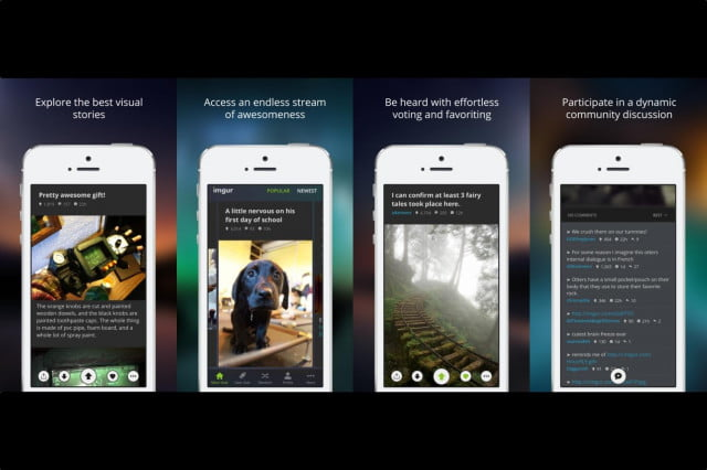 imgurs new ios app lets you browse for your favorite memes easily imgur screenshots