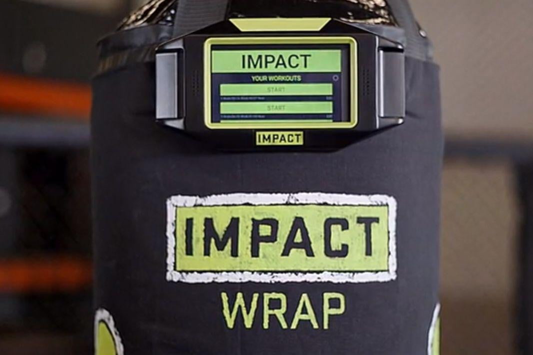 impact wrap, smart boxing, smart heavy bag