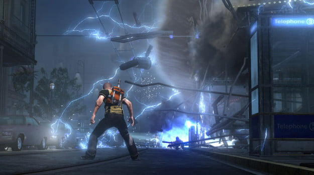 inFamous 2 explosion