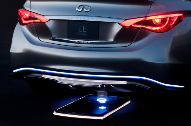 Infiniti inductive charging