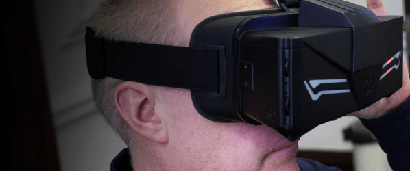 We wore the futureof VR, and it hasa crystal clear 20K resolution