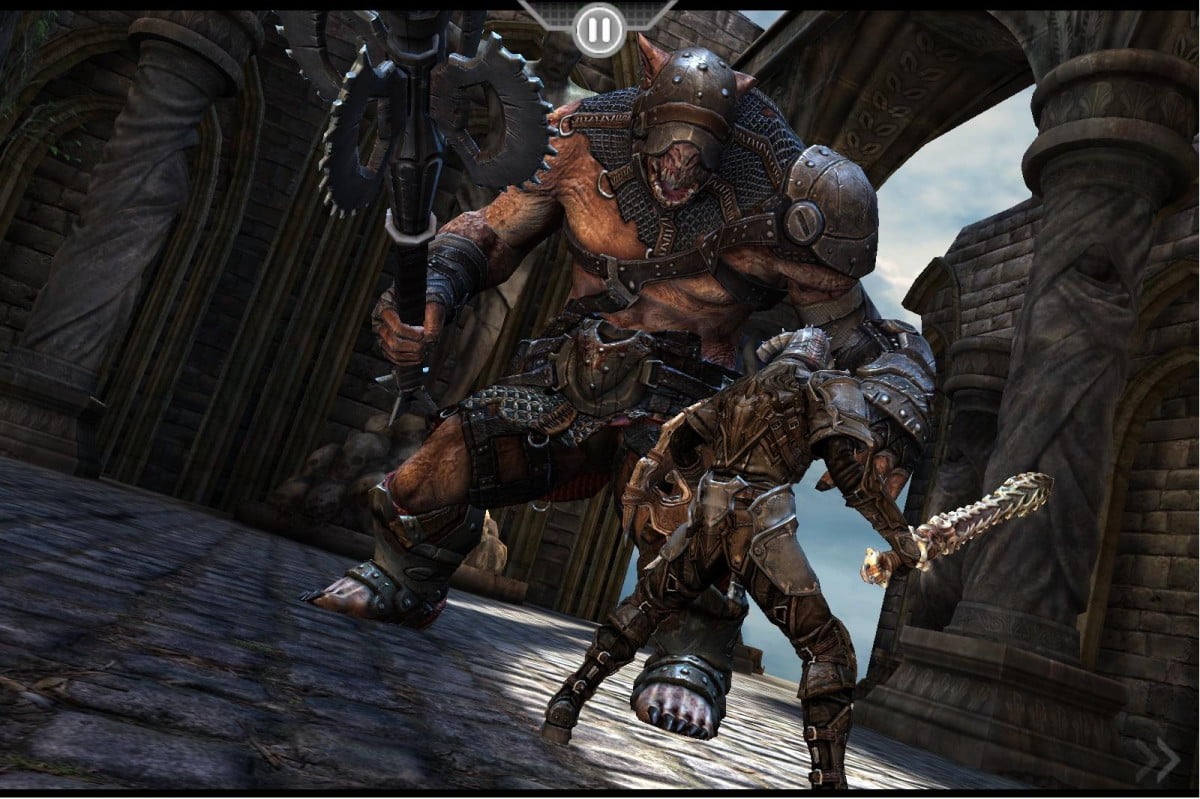 mobile rpg infinity blade coming xbox one least china