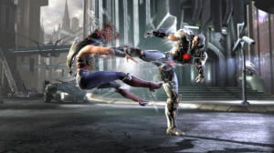 Injustice Cyborg vs Wonder Woman