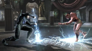 Injustice Nightwing vs Flash