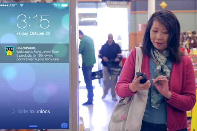apple ibeacon grocery stores inmarket