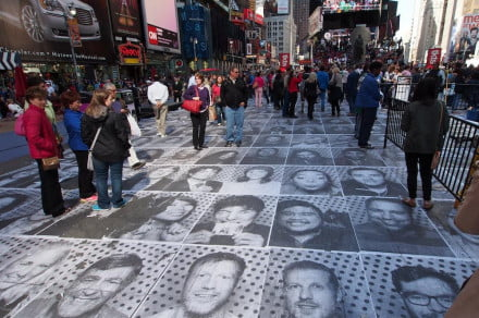Inside Out Project time square
