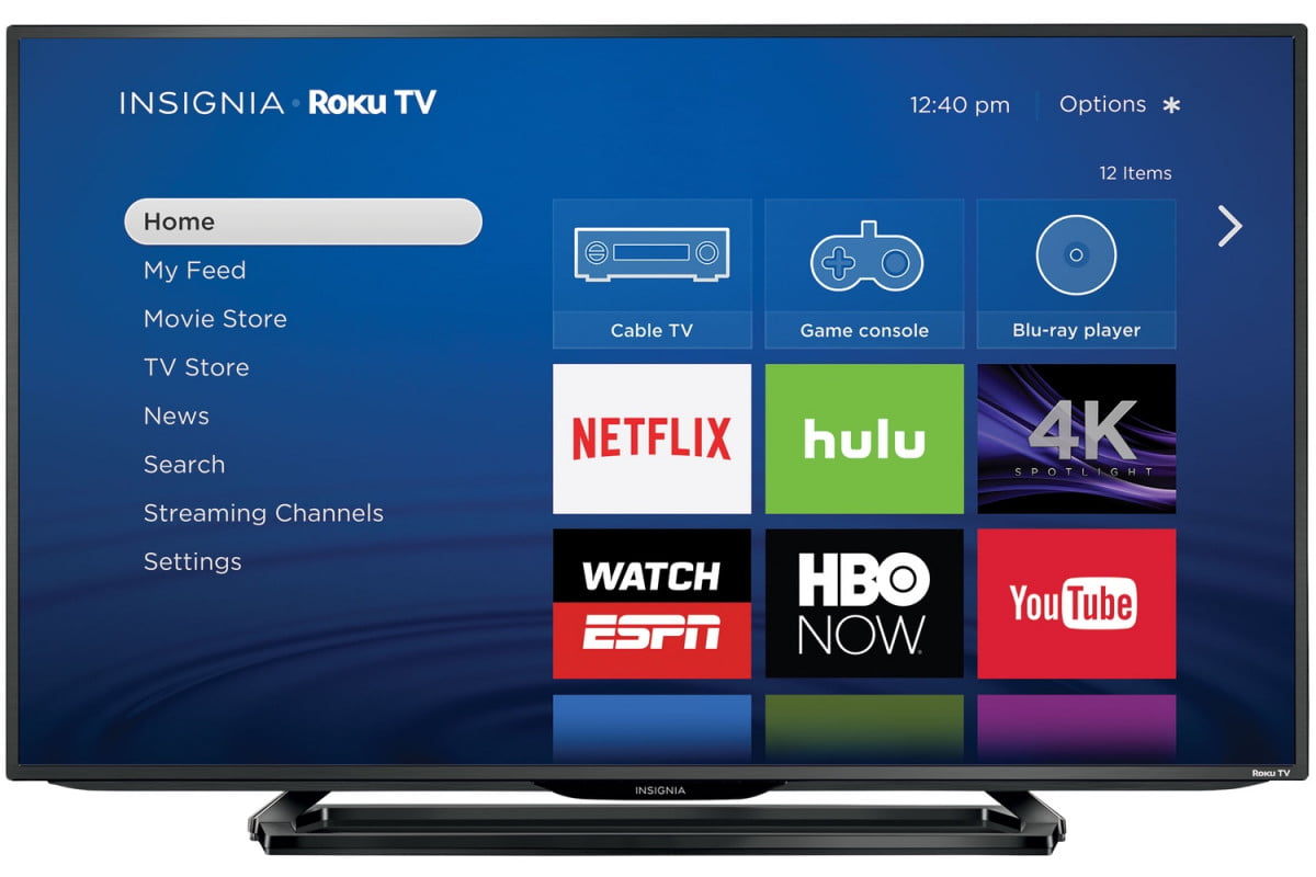 new insignia 4k uhd roku tvs now available from best buy digital trends. Black Bedroom Furniture Sets. Home Design Ideas