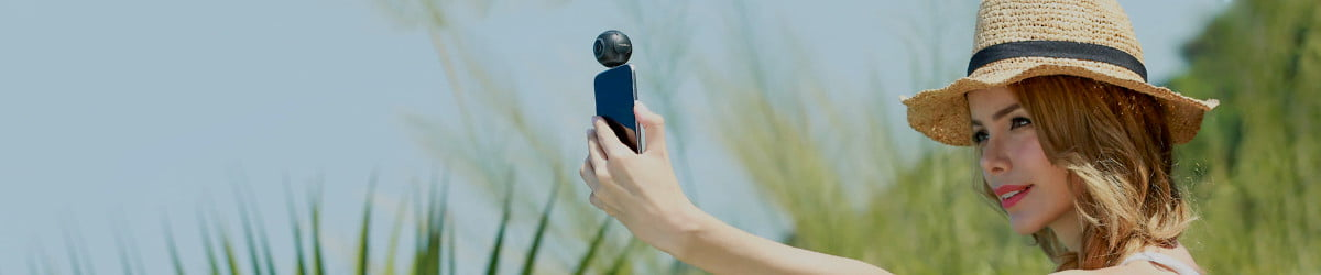 Any Android phone can shoot 360 video with this cheap, golf ball-sized cam