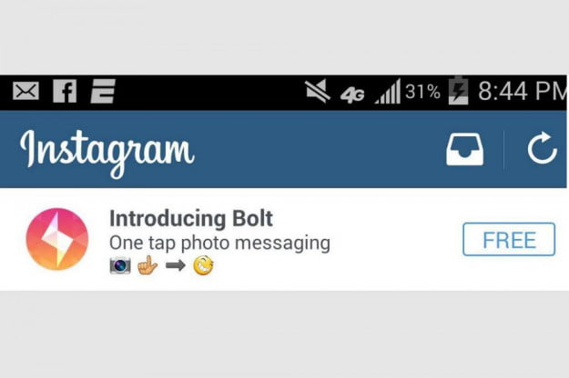 Instagram's Bolt?