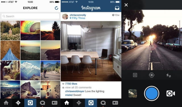 instagram enhances explore tab including content may actually care